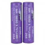 Efest IMR 20A 18650 Flat Top Battery 3100 mAh - 2 Pack