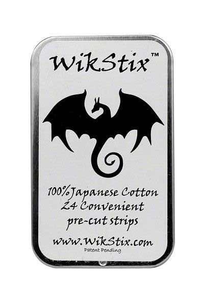 WikStix Organic Japanese Cotton Strips