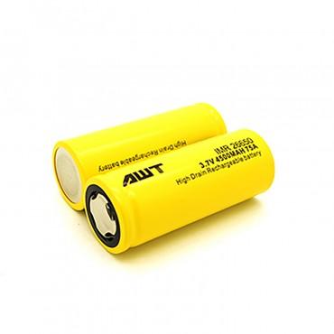 AWT 26650 75A Battery 2 Pack 4500mah