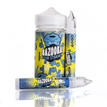 Bazooka Sour Straws E-Liquid - Blue Raspberry