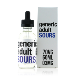 Generic Adult Sours Berry E-liquid (60ML)