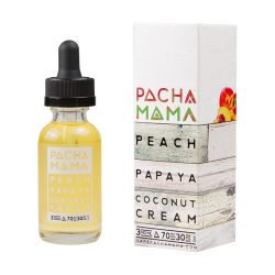 Pachamama Peach Papaya Coconut E-liquid (60ML)