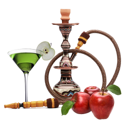 VaporFi Double Apple Hookah E-Liquid (30ML)