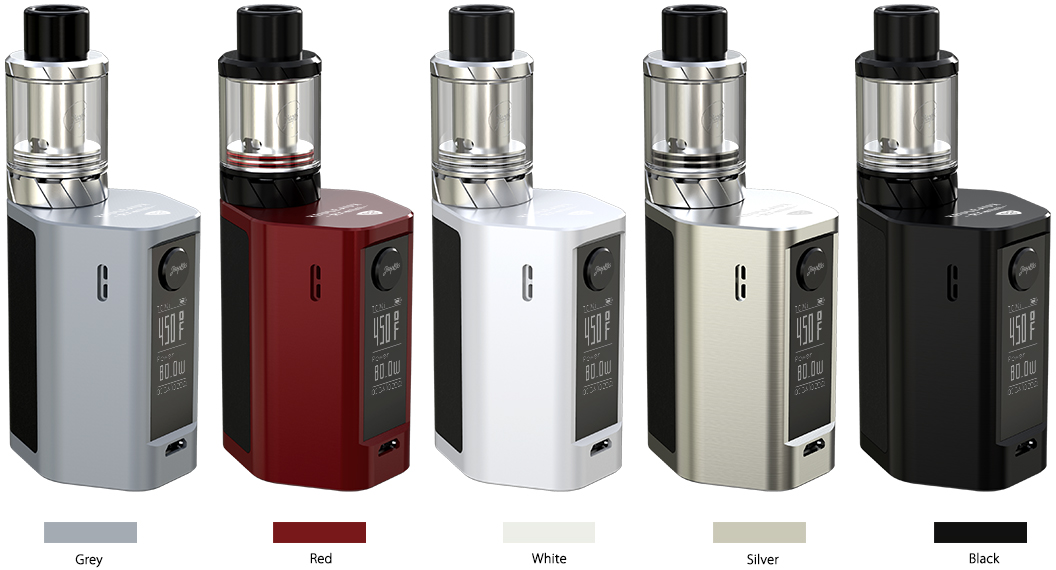WISMEC 80W Reuleaux Rxmini Starter Kit with Reux Mini Tank - 2.0ml & 2100mAh