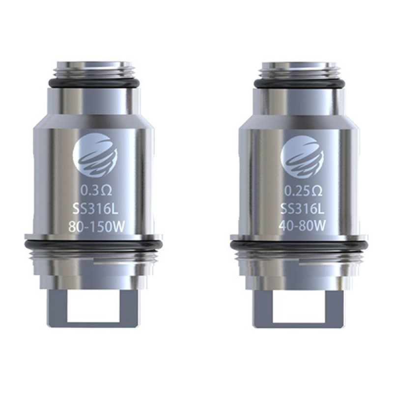 IJOY Tornado 150 Replacement Coil Head SS316L 0.25ohm/0.3ohm - 5pcs/pack