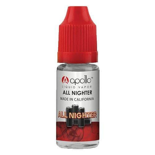 Apollo E-Liquid - All Nighter - 10ml - 10ml / 6mg