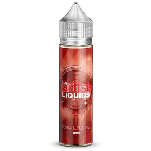 Artist Liquids - Red Label - 60ml / 4mg