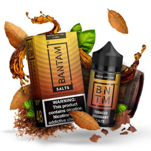 Bantam SALTS - Tobacco Mahogany - 30ml / 36mg