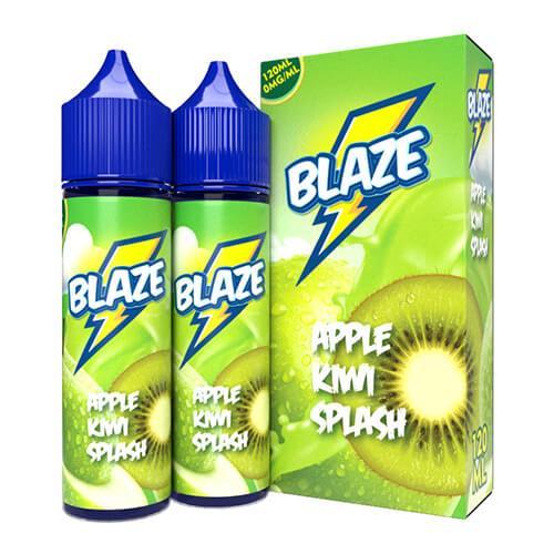 Blaze by Sky Drip - Apple Kiwi Splash - 2x60ml / 0mg