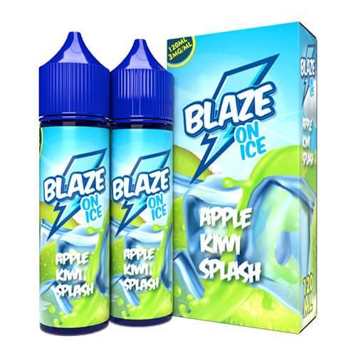 Blaze On Ice by Sky Drip - Apple Kiwi Splash On Ice - 2x60ml / 6mg