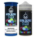 Bomb Bombz Premium E-Liquid - Sour Deez ICE - 100ml / 6mg