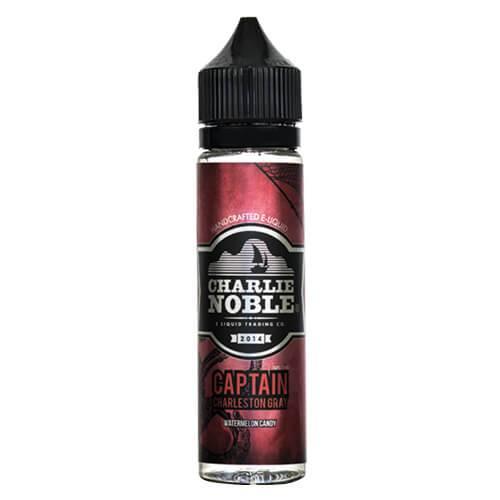 Charlie Noble E-Liquid - Captain Charleston Gray - 60ml / 6mg