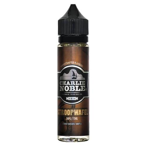 Charlie Noble E-Liquid - Stroopwafel - 60ml - 60ml / 12mg
