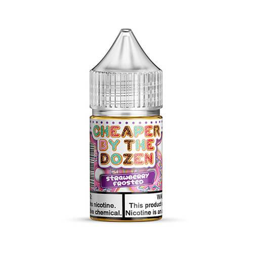 Cheaper by the Dozen eJuice SALTS - Strawberry Frosted - 30ml / 25mg