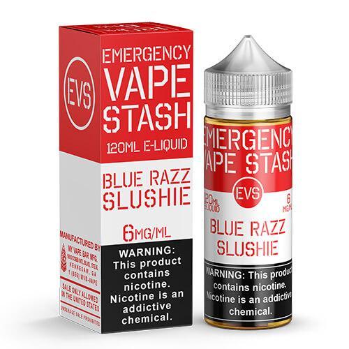 Emergency Vape Stash - Blue Razz Slushie - 120ml / 3mg
