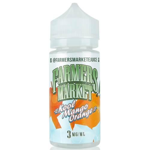 Farmers Market eJuice - Kool Mango Orange - 100ml / 0mg