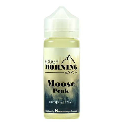 Foggy Morning Vapor - Moose Peak - 120ml / 6mg