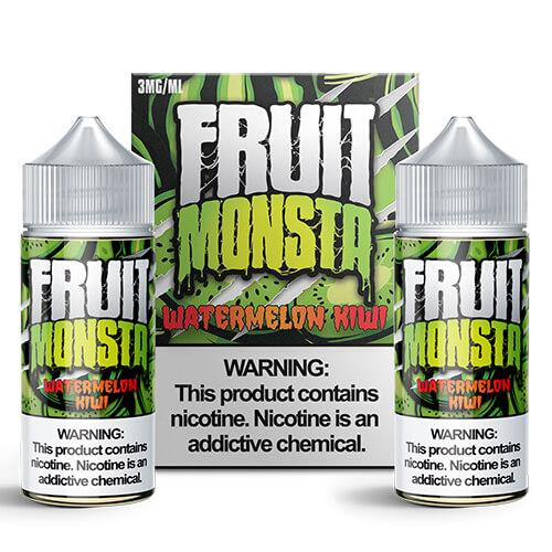 Fruit Monsta E-Liquids - Kiwi Watermelon - 2x100ml / 0mg