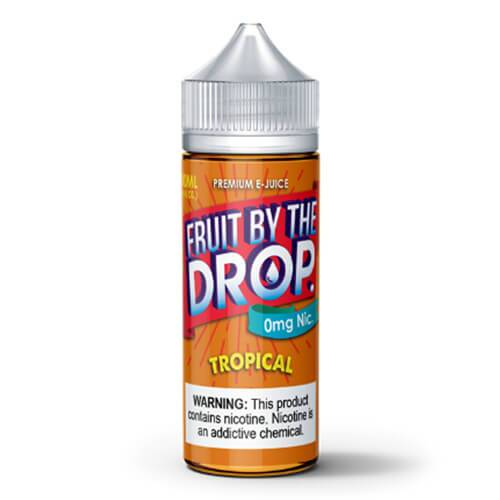 Fruit By The Drop Premium eJuice - Fruit by the Drop Tropical - 100ml / 0mg