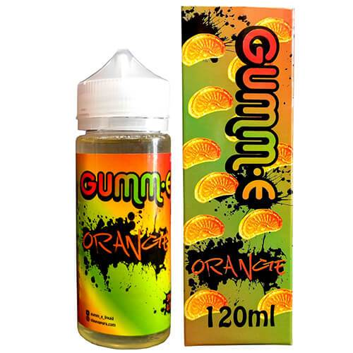 GUMM-E eJuice - Orange - 120ml / 0mg