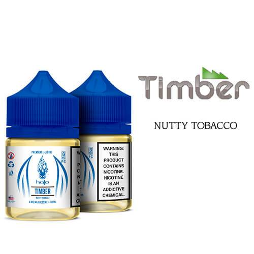Halo eJuice White Label - Timber - 60ml / 0mg