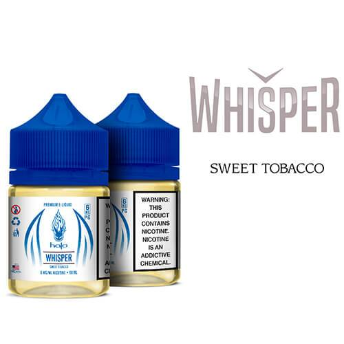 Halo eJuice White Label - Whisper - 60ml / 0mg