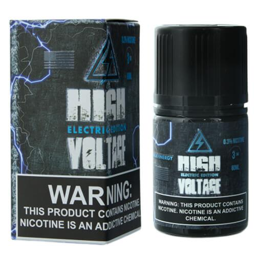 High Voltage Vaporz Electric Edition - Blue Energy - 60ml / 12mg
