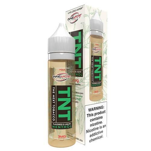 Innevape eLiquids - TNT (The Next Tobacco) Menthol - 75ml / 3mg