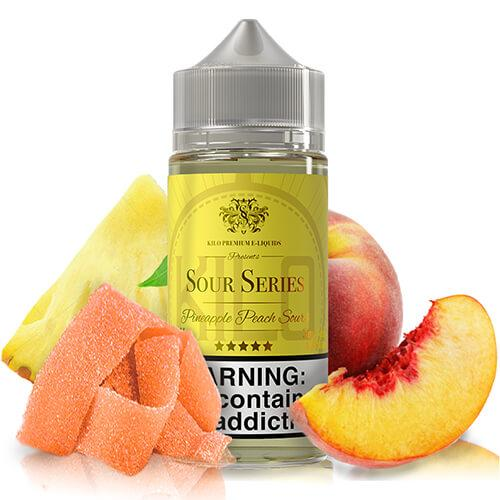 Kilo eLiquids Sour Series - Pineapple Peach Sours - 100ml / 3mg