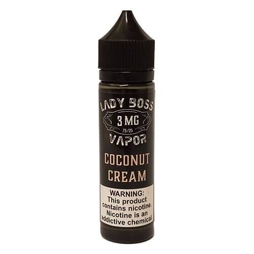 Lady Boss Vapor - Coconut Cream - 120ml / 0mg