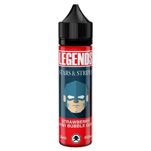 Legends Hollywood Vape Labs - Stars And Stripes - 30ml / 3mg