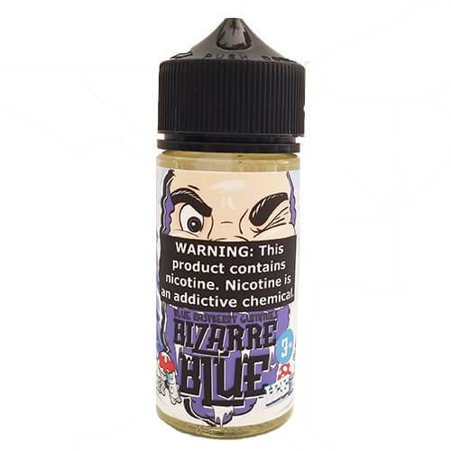 Bizarre Blue ICE by Liquid EFX Vape - Blue Raspberry Gummies - 100ml / 3mg