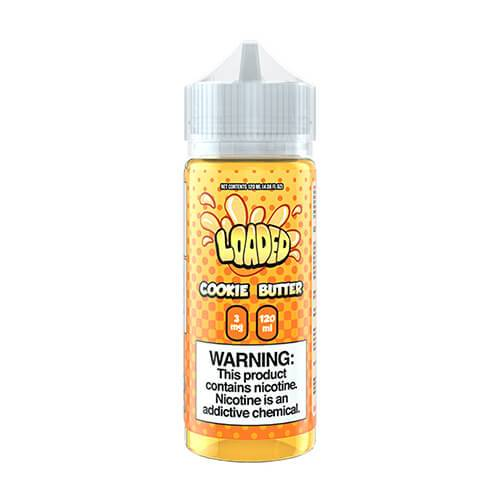 Loaded E-Liquid - Cookie Butter - 120ml / 0mg
