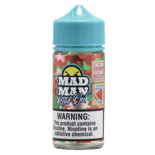 MadMan Liquids ICED OUT - Crazy Watermelon ICE - 100ml / 6mg