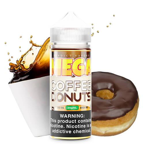 MEGA E-Liquids - Coffee Donuts - 60ml / 3mg