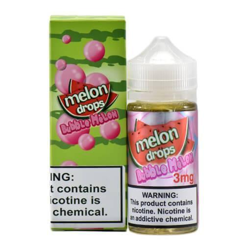 Melon Drops E-Liquid - Bubble Melon - 100ml / 3mg