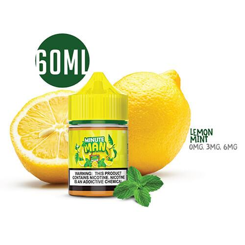 Minute Man Vape - Lemon Mint Sub Ohm Salt - 60ml / 3mg