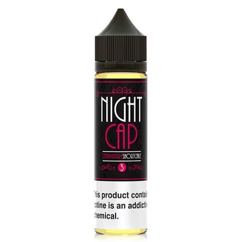 Night Cap eLiquid - Strawberry Shortcake - 120ml / 0mg