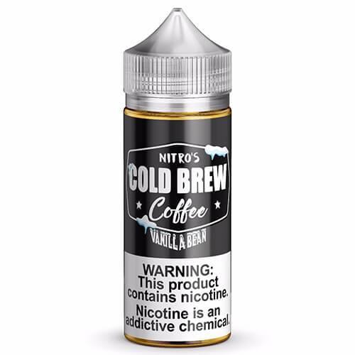 Nitro?ÇÖs Cold Brew - Vanilla Bean eJuice - 100ml / 0mg