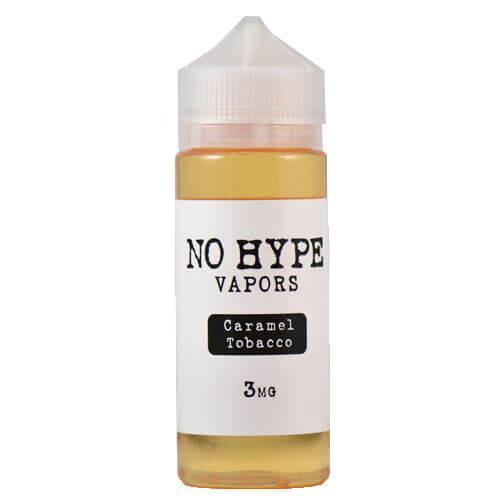 No Hype Vapors - Caramel Tobacco - 120ml / 6mg