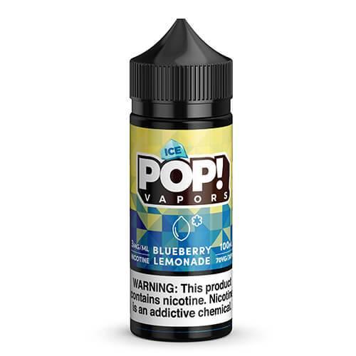 POP! Vapors Fruit Iced - Blueberry Lemonade - 100ml / 6mg