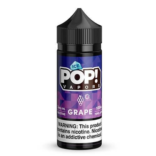 POP! Vapors Candy Iced - Grape Chew Candy - 100ml / 0mg