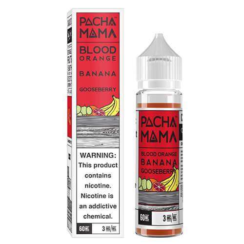 Pachamama E-Liquid - Blood Orange Banana Gooseberry - 60ml / 6mg