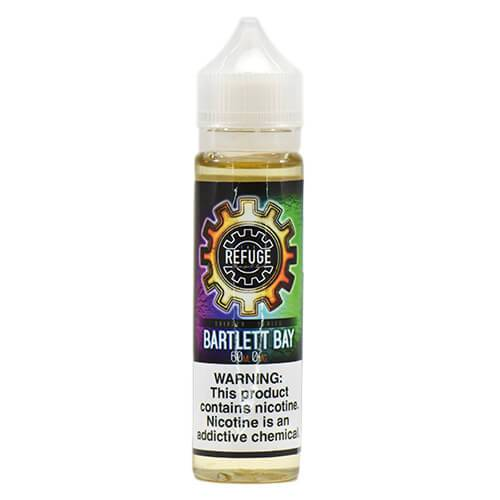 The Refuge Handcrafted E-Liquid - Bartlett Bay - 60ml / 1mg