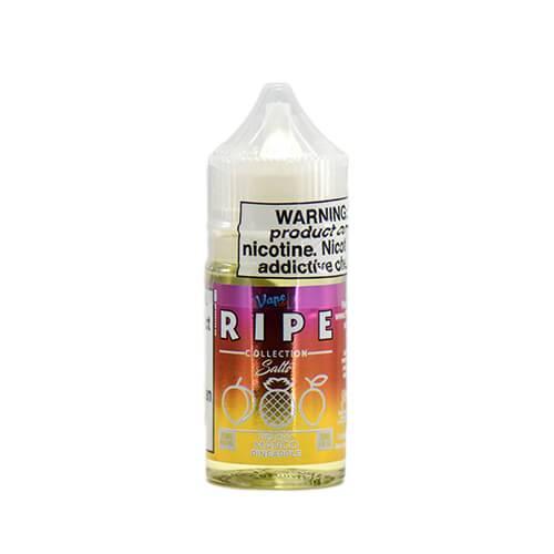 Ripe Collection on Ice by Vape 100 Nic Salts - Peachy Mango Pineapple on Ice - 30ml / 50mg