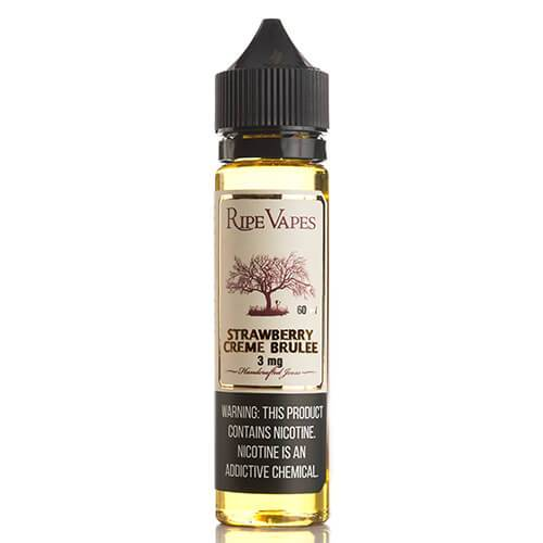 Ripe Vapes Handcrafted Joose - Strawberry Creme Brulee - 60ml / 18mg