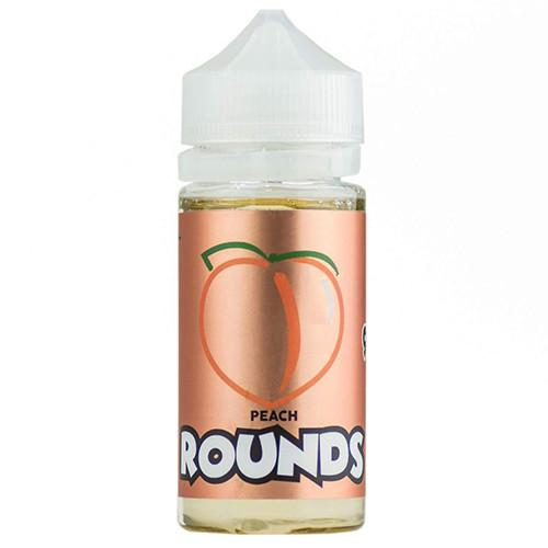 Rounds E-Liquid - Peach Rounds - 100ml / 0mg