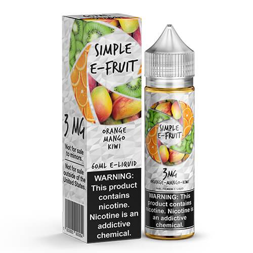Simple E-Fruit - Orange Mango Kiwi - 60ml / 6mg