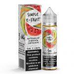Simple E-Fruit - Watermelon Honeydew Cantaloupe - 60ml / 3mg