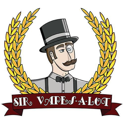 Sir Vapes-A-Lot eLiquid - Mustache Ride - 120ml / 0mg